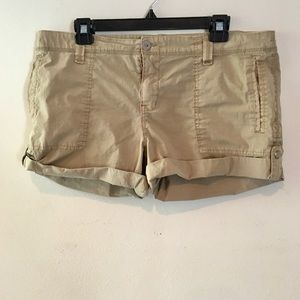 SANCTUARY ROLL UP UTILITY SHORTS
